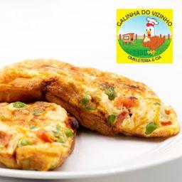 Omelete de Calabresa e Catupiry