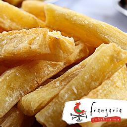 Mandioca frita frangaria
