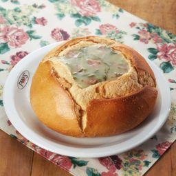 Sopas, Caldos, Cremes no Pão Italiano