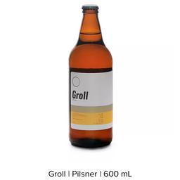 Cerveja Groll Pilsner (cevaderia) 600ml