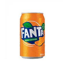 Fanta laranja  - lata