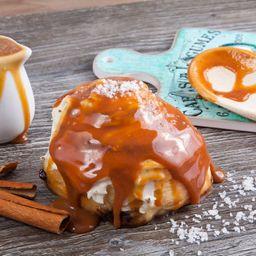 Cinnamon Roll Caramelo Artesanal e Flor de Sal