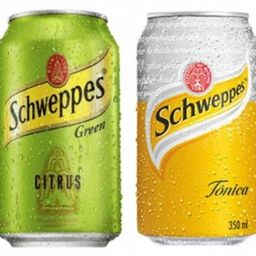 Água Tônica ou Schweppes Citrus