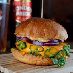 Texas Jalapeño Burger
