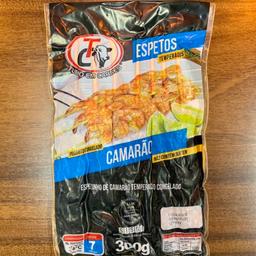 Pacote - Camarão - 7 Espetos - 300g