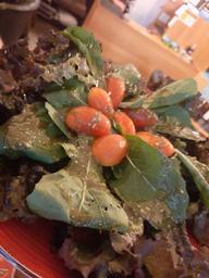 Salada de Folhas Verde