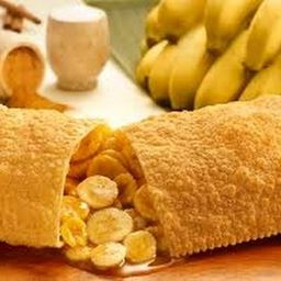 Pastel de Banana com Canela