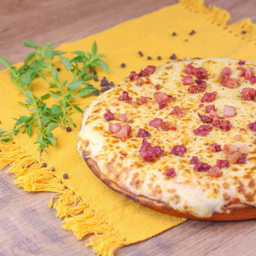 Pizza Low Carbonara