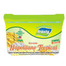 Sorvete Napolitano Tropical - 2L