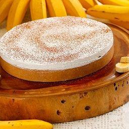 Torta banoffee doce de leite inteira