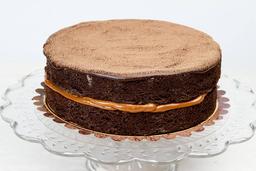 Brownie com Doce de Leite - Grande