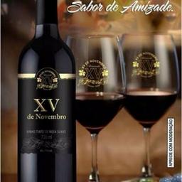 Vinho Tinto Bordô Suave