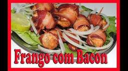 Filé de Frango Acebolado com Bacon 2 pessoas