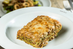 Lasagna Bolognese com Massa Verde