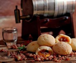 Pão de Queijo Bacon e Cheddar - 1kg