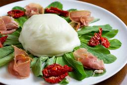 Burrata Com Parma