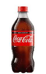Coca-Cola sem Açúcar - 600ml