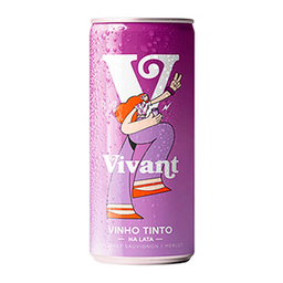 Vinho Vivant Cabernet/merlot 269ml