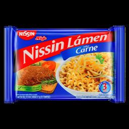 Miojo Nissin Carne