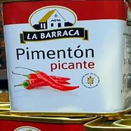 Páprica Picante Labarraca Lata 75 G