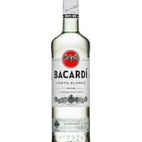 Bacardi White Rum Carta Blanca - 1L