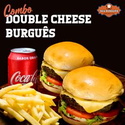Combo Double Cheese Burguês
