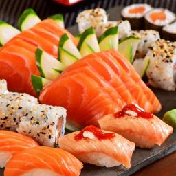 Combinado Do Cheffe Sushi E Sashimi - 45 Peças