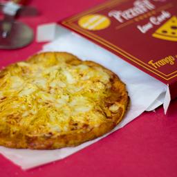 Pizzafit Low Carb Frango Com Alho Poró E Parmesão