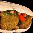 Sanduíche Falave Árabe