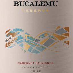 Vinho Chileno Bucalemu Reserva Cabernet Sauvignon 750ml