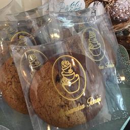 Cookie de aveia, cramberry e chocolate ao leite 60g