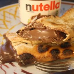 Enroladinho de Nutella