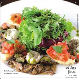 Salada com Shitake