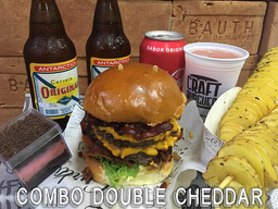 Combo Double Super Cheddar Bacon