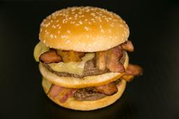 Burguer Duplo Cheddar Bacon