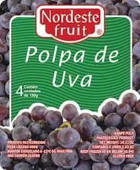Polpa de Uva Nordeste Fruit - 400g