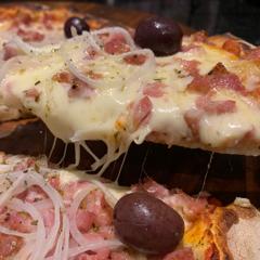 Pizza de Calabresa Artesanal Especial