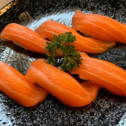 Promoção Sushi Salmão - 6 Unidades