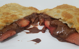Pastel de Morango c/ Chocolate