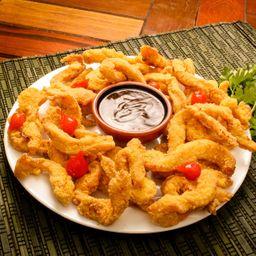 Iscas de frango pequena 450 gramas
