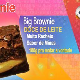 Big Brownie de Doce de Leite