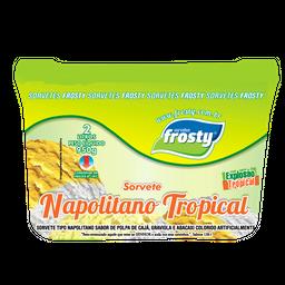 Sorvete Napolitano Tropical 2L