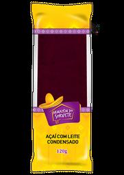 Paleta de Morango com Leite Condensado