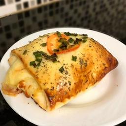 Enrolado de presunto e queijo