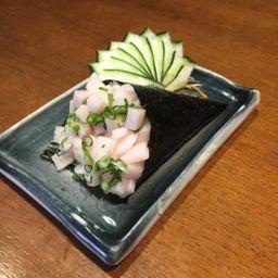 Temaki de peixe branco - 150 gramas