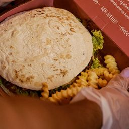 Beirute de Falafel (opção Vegana)