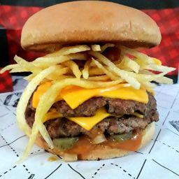 Double Fries Burguer