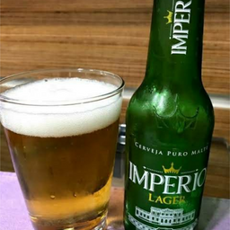 Cerveja Imperio Lager Long Neck 275ml Und.