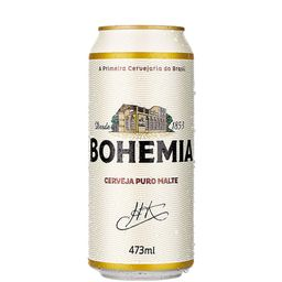 Cerveja Bohemia Puro Malte Latão 473Ml