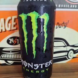 Monster Energy Preto e Verde 473ml